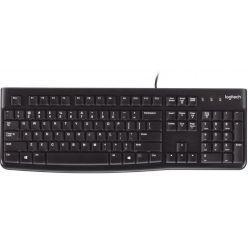 Logitech K120, klávesnice, USB, GER