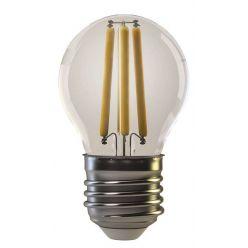Emos LED žárovka Filament Mini Globe 4W/37W E27, WW teplá bílá, 400 lm