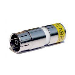 Profesionální lisovací konektor Cabelcon IECF-56-CX3 4,9 (6,5mm)