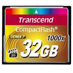 Transcend 32GB CompactFlash paměťová karta, 1000x
