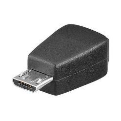 USB redukce miniUSB B(F) - microUSB B(M)