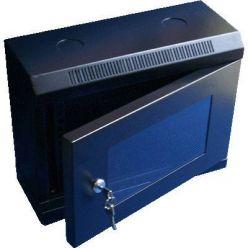 """10"""" rack jednodílný 6U/280 DATACOM černý Skl.dv."""