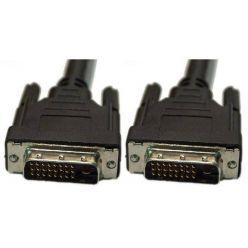 DVI kabel propojovací, dual link, 3m, černý
