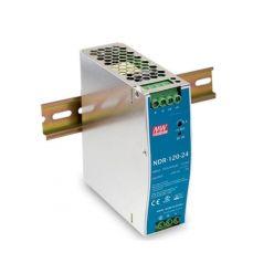 MEANWELL • NDR-120-24 • Průmyslový napájecí spínaný zdroj 24V 120W na DIN