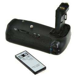 Baterry Grip Jupio pro Canon EOS 70D / EOS 80D / 90D (2x LP-E6 nebo 6x AA)