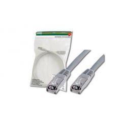Digitus Patch Cable, SF-UTP, CAT 5e, AWG 26/7, měď, šedý 1m