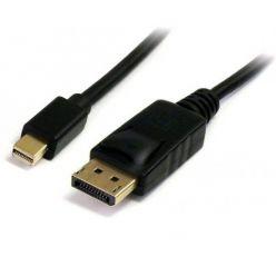PremiumCord DisplayPort 1.1 kabel, mini DP -> DP, M/M, 2m, černý