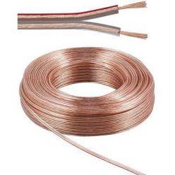PremiumCord kabely na propojení reprosoustav, měď, 2x1,5mm, 10m
