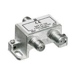 Anténní rozbočovač, 3x F(F), pro CATV, kovový