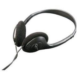 C-TECH MHP-123, sluchátka bez mikrofonu, černá