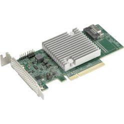 "Supermicro AOC-S3808L-L8IT SAS3HBA 1×8654-8i, PCI-E8 g4, LP (2,7"")"