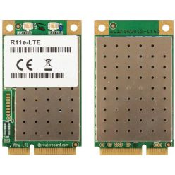 MikroTik RouterBOARD R11e-LTE - 2G/3G/4G/LTE miniPCi-e card with 2 x u.FL connectors
