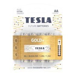 Tesla AA GOLD+ alkalická - 4 ks, ND