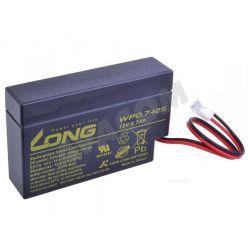 Baterie Long 12V 0,7Ah olověný akumulátor JST