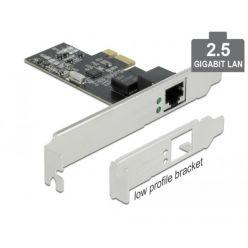 Delock 2.5Gigabitová síťová karta, 1x RJ-45, LP, PCIe