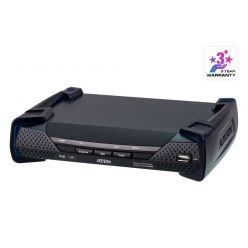 ATEN KE9952R 4K DisplayPort Single Display KVM over IP Extender with PoE (Receiver)