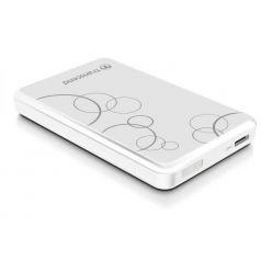 """Transcend StoreJet A3 - 1TB, externí 2.5"""" HDD, USB 3.0, bílý se vzorem"""