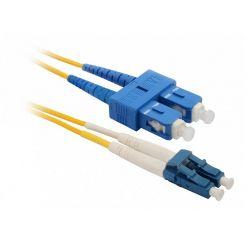 Solarix Patch kabel 9/125 LCupc/SCupc SM OS 3m duplex SXPC-LC/SC-UPC-OS-3M-D