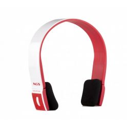 NGS RedArctica, bluetooth headset pro tablety, červený