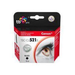 TB náhrada za Canon CLI-521Bk, černá, 10ml