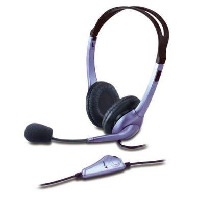 Genius HS-04S, sluchátka s mikrofonem