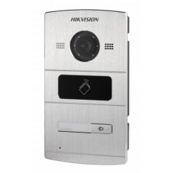 Hikvision DS-KV8102-IM - IP venkovní dveřní stanice, HD kamera, čtečka IC karet, 1x tlačítko