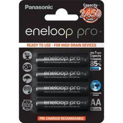 Panasonic eneloop PRO, AA, Ni-Mh, 4ks, 2500mAh, 500 cyklů