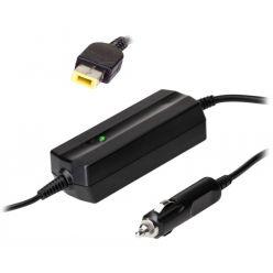 TRX Akyga napájecí adaptér do auta/ 20V/ 4,5A/ 90W/ Square yellow Slim Tip/ pro notebooky IBM/ Lenovo