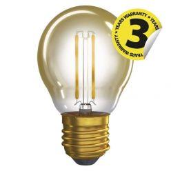 Emos Vintage LED žárovka MINI GLOBE, 2W (18W), E27, 170 lm, 2200K, A++