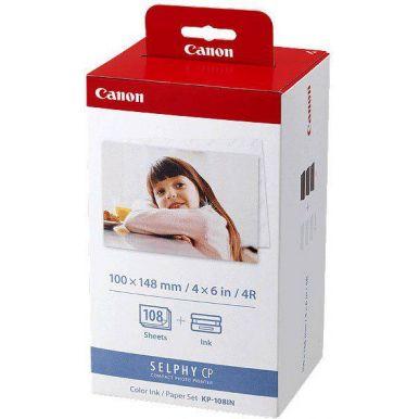 Canon KP108IN, fotopapír pro termosublimační tiskárny, 10x15cm, 108 listů