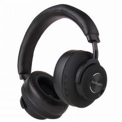 EVOLVEO SupremeSound 4ANC, BT, bezdrátová sluchátka s mikrofonem, ANC, černá