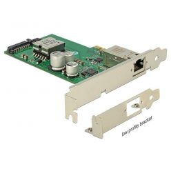 Delock gigabitová síťová karta s aktivním PoE, 1x RJ-45, PCIe