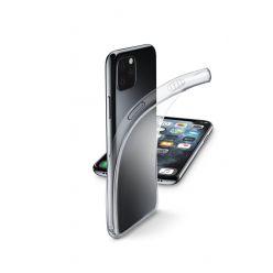 Extratenký zadní kryt CellularLine Fine pro Apple iPhone 11 Pro, transparentní