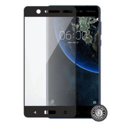 Screenshield NOKIA 5 (2017) Tempered Glass protection (full COVER black)