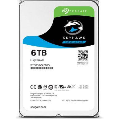 """Seagate SkyHawk 6TB, 3.5"""" HDD, 7200rpm, 256MB, SATA III"""