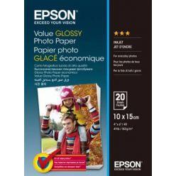 EPSON Value Glossy Photo Paper, 10x15cm, 183g, 20 listů