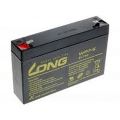 Baterie Long WP7-6, 6V, 7Ah, Faston 187
