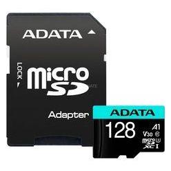 ADATA 128GB microSDXC karta, UHS-I U3 V30S, 100R/80W + adaptér