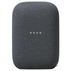 Google hlasový asistent Nest audio charcoal/ Google Assistant/ Wi-Fi/ Bluetooth/ CZ adaptér/ šedý