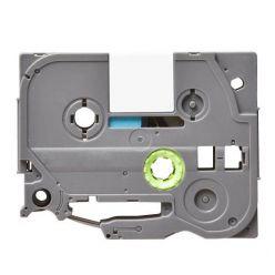 Páska TZE-231 (TZE231) kompatibilní pro Brother, 12mm, bílá/černá, laminovaná, délka 8m