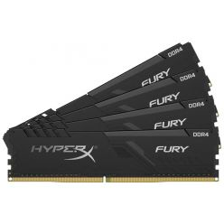 KINGSTON HyperX FURY 4x16GB DDR4 3000MHz / DIMM / CL15 / černá