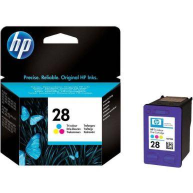 HP 28, barevná inkoustová cartridge, 8ml, C8728AE