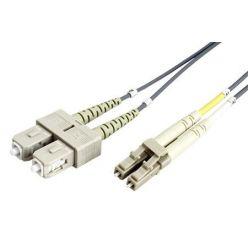Optický patchkabel LC-SC 50/125 (multimode), duplex, OM2, 3m