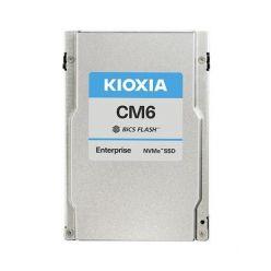 """Kioxia CM6-V 800GB NVMe U.3 (2,5""""/15mm), PCI-E4/2PCI-E2(g4), 880/100kIOPS, 6900/1400 MB/s, BiCS TLC, 3DWPD"""