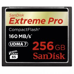 SanDisk Extreme Pro 256GB CompactFlash karta, 160R/150W