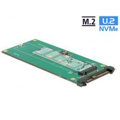 Delock Převodník U.2 SFF-8639 NVMe -> 1 x M.2 Key M