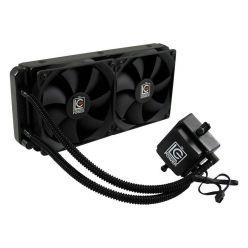 LC POWER LC-CC-240-LiCo, vodní chladič pro CPU, 2x 120mm ventilátor