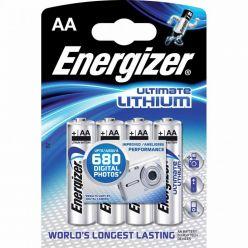 Energizer Ultimate Lithium FR6 4BP AA