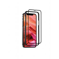 Ochranné tvrzené sklo FIXED 3D Full-Cover s aplikátorem pro Apple iPhone 7/8/SE (2020), černé