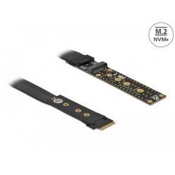 Delock Riser Card M.2 klíč M, prodlužovací, NVMe, s kabelem délky 20 cm